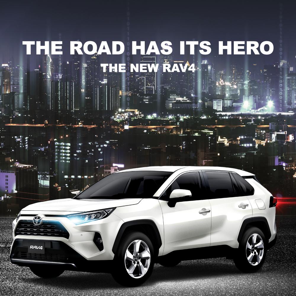 Toyota RAV4 launch
